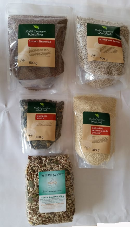 seeds and nuts - thelifestylecafe